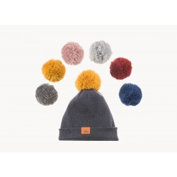 Winter Beanie PomPom Navy