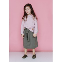 Bluza Zipped Powder Pink
