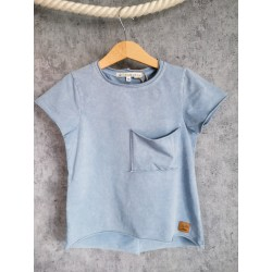 T-shirt Basic Marine Blue