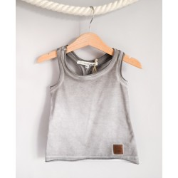 Bokserka Shadowed Grey Tank Top