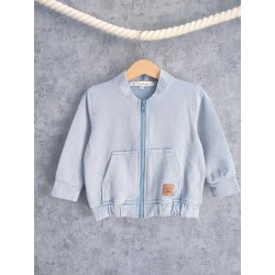 Kurtka Summer Blue Bomber Jacket